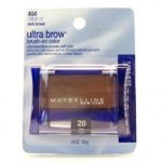 404 Ultra brow brush on color dark brown