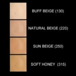 Base liquida fit me 130 buff beige paleta