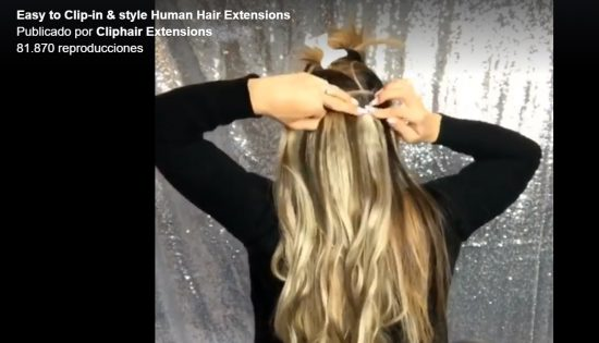 Easy to Clip-in & style Human Hair Extensions